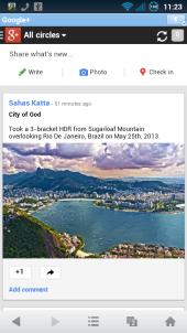 Google Plus UC Proxy Mode