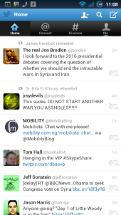 Twitter Android Browser